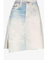 Our Legacy Short Craft Denim Skirt - Blue