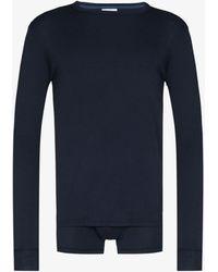 Schiesser Karl Heinz Sleepwear Set - Blue