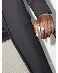 M. Cohen Sterling Omni Beaded Bracelet - - Oxidised Sterling - Metallic