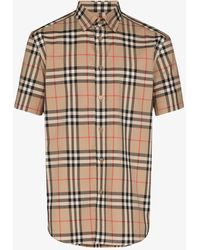 Burberry Short-sleeve Check Shirt - Multicolor