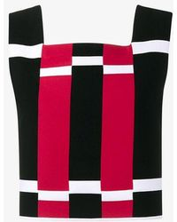 Alaïa - Graphic Knitted Top - Lyst