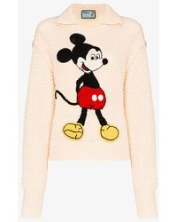 Gucci - X Disney Mickey Mouse Sweater - Lyst