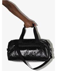 Saint Laurent Nuxx Nylon Holdall - Black