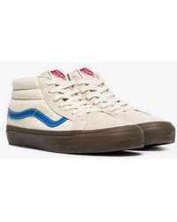 61808dc7150647 Vans Authentic Suede Plimsolls Cream Men s In Beige in Natural for ...