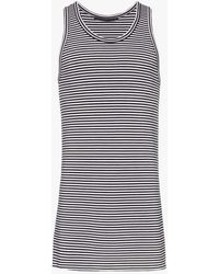 Haider Ackermann Fortuna Striped Tank Top - Black