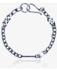Jelena Behrend Signature Link Necklace - Metallic