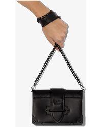 Prada Cahier Crossbody Bag - Black