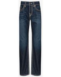 True Religion Ricky Super T Straight Jeans - Blue