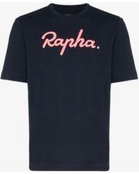 Rapha Logo Printed T-shirt - Blue
