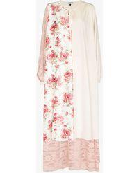 Masterpeace Patchwork Maxi Dress - Multicolour