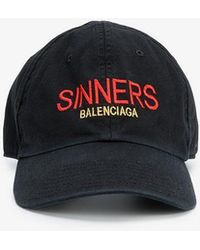 Balenciaga - Sinners Baseball Cap - Lyst