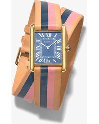 La Californienne Reworked Vintage Cartier Tank Watch - Metallic