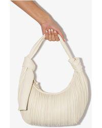 Neous Neptune Leather Shoulder Bag - White