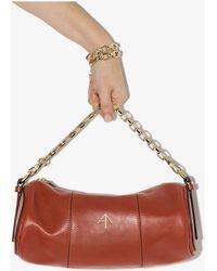 MANU Atelier Cylinder Shoulder Bag - Red