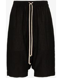 Rick Owens Rick's Pods Bermuda Shorts - Black