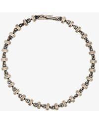 M. Cohen Sterling Omni Beaded Bracelet - Metallic