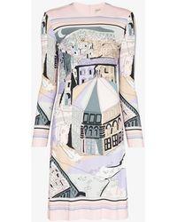 Emilio Pucci - Battistero Print Dress - Lyst