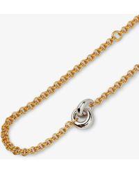 Otiumberg Vermeil Link Up Bracelet - - Silver/ Vermeil - Metallic
