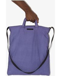 Our Legacy Pillow Tote Bag - Purple
