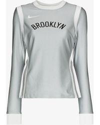 Nike X Ambush Brooklyn Nets Basketball Top - Gray
