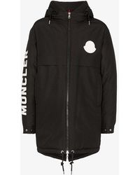 Moncler Black Charnier Parka Coat