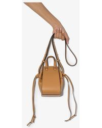 Loewe Brown Hammock Mini Leather Cross Body Bag
