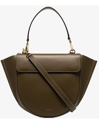 Wandler - Green Hortensia Medium Leather Tote Bag - Lyst