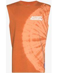 Satisfy Tie-dye Tank Top - Orange