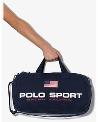 Polo Ralph Lauren Sport Logo Holdall - Blue