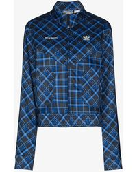adidas X Wales Bonner Tartan Track Jacket - Blue