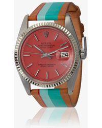 La Californienne - Mint Pink Palm Rolex Watch - Lyst