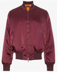 Balenciaga - Tonal Embroidered Bomber Jacket - Lyst