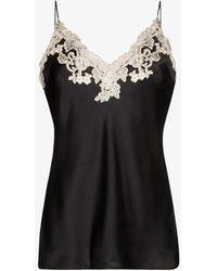 La Perla Black Maison Silk Lace Camisole