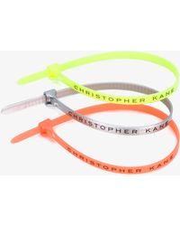 Christopher Kane Cable Tie Bracelets - Multicolor