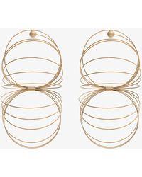 Y. Project - Gold Slinky Earrings - Lyst