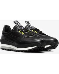 Givenchy - Black Tr3 Runner Leather Trainers - Lyst