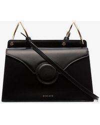 Danse Lente - Black Phoebe Leather Cross Body Bag - Lyst