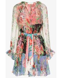 Zimmermann Bellitude Floral Dress - Multicolour