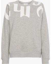 Chloé - Logo Cotton Sweatshirt - Lyst