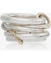 Spinelli Kilcollin - Silver Metallic Vela Sterling Silver Ring - Lyst
