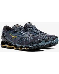 Mizuno - Blue Miz Wave Prophecy 7 Sneakers - Lyst