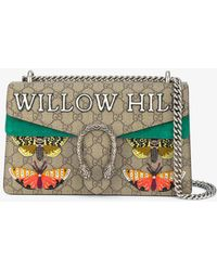Gucci   Willow Hill Dionysus Embroidered Shoulder Bag   Lyst