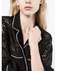 Lizzie Mandler 18k Yellow Gold Single Kite Diamond Necklace - - 18kt Gold/diamond - Metallic