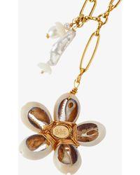 Brinker & Eliza - Gold-plated Aloha Pendant Necklace - Lyst