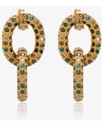 Carolina Bucci - 18k Yellow Gold Chain Earrings - Lyst