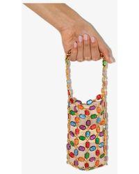Vanina Multicoloured Les Milles Et Une Nuit Beaded Mini Bag - Metallic