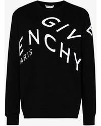 Givenchy Refracted Logo Sweatshirt - Black