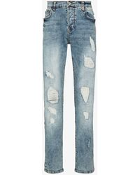 True Religion Rocco Slim Fit Jeans - Blue