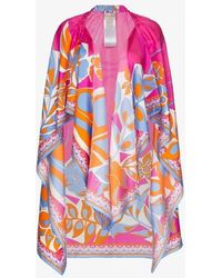 Emilio Pucci Printed Beach Cover-up - Pink