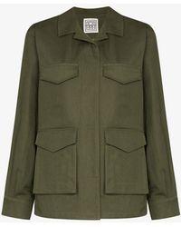 Totême Avignon Military Jacket - Green